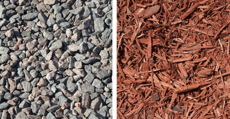 Gravel and Mulch
